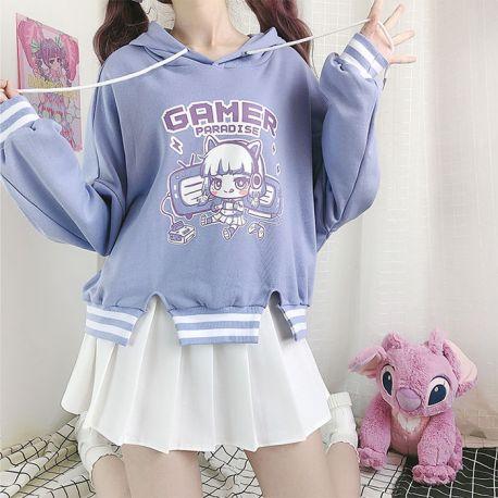 Gamer paradise hoodie