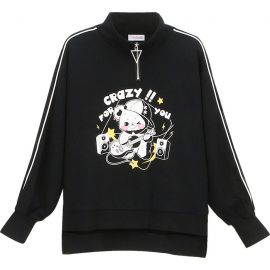 Black Rock 'n Roll Bear sweater