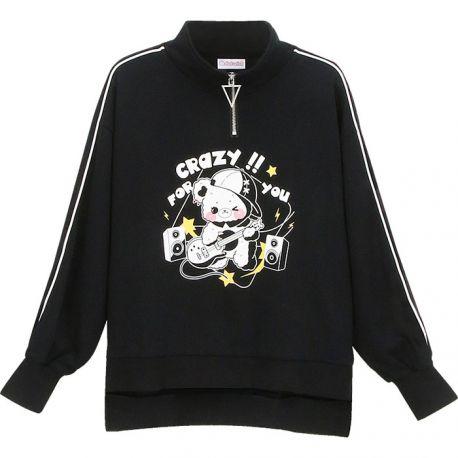 Black Rock 'n Roll Bear sweater
