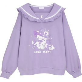 Purple Magic Night sailor blouse