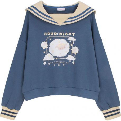Good Night Sheep sailor sweater