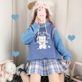 Angel Dream teddy hoodie
