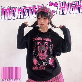 Black Sonic Angel hoodie