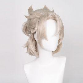 Genshin Impact - Albedo short blonde wig
