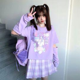 Anime style Japanese loose shirt
