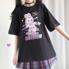 Skateboard Rabbit T-shirt