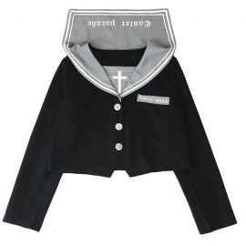 Caster Parade black school uniform shirt