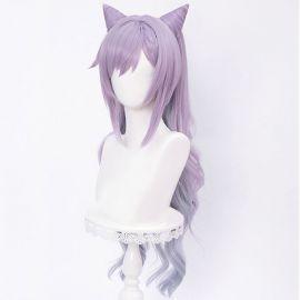 Genshin Impact - Keqing long purple wig