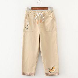 Japanese Mori Girl cotton pants