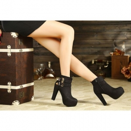 Women's fashion mocca ankle shoes