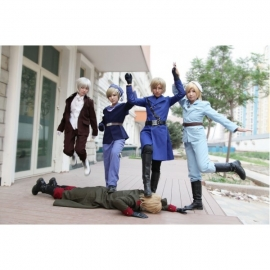 Axis Powers Hetalia - Nordic costume