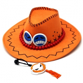 One Piece - Portgas D. Ace cowboy hat