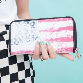 USA pattern wallet