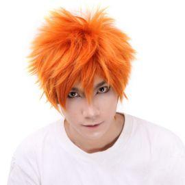 Bleach - Ichigo Kurosaki lyhyt oranssi peruukki