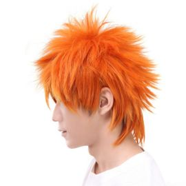 Bleach - Ichigo Kurosaki short orange wig
