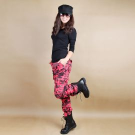 Stylish unisex camo cargo pants