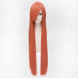 Cosplay pitkä oranssi suora peruukki