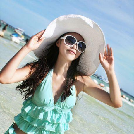 Women's big sun hat
