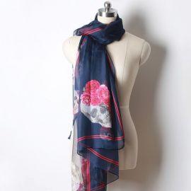 Elegant skull scarf