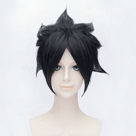 Naruto - Sasuke Uchica lyhyt musta peruukki