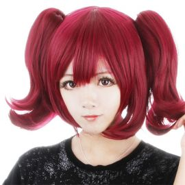 Bleach - Riruka Dokugamine short wine red wig