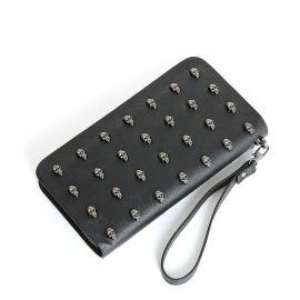 Women's skull wallet