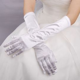 Elastic cosplay gloves