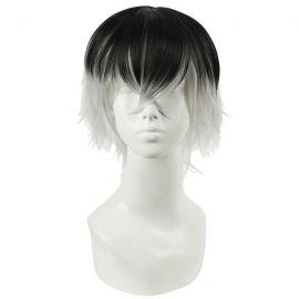 Tokyo Ghoul - Haise Sasaki short black & white wig