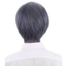 Kuroshitsuji - Ciel Phantomhive lyhyt harmaa peruukki