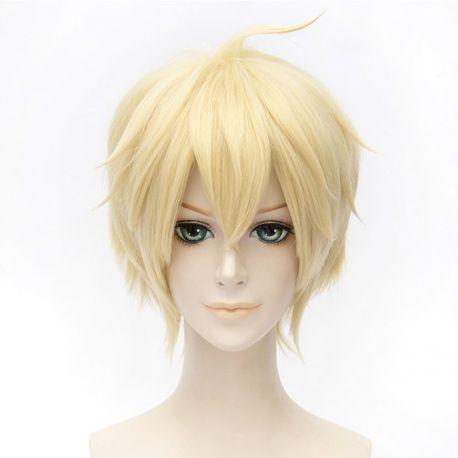Owari no Seraph - Mikaela Hyakuya short blonde wig