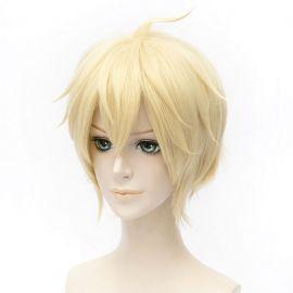 Owari no Seraph - Mikaela Hyakuya lyhyt vaalea peruukki