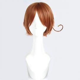 Axis Powers Hetalia - Italy short light orange wig