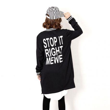 Women's long light jacket