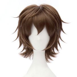 Owari no Seraph - Yoichi Saotome short dark brown wig