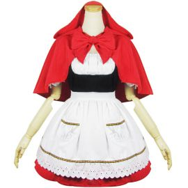 Little Red Riding Hood Lolita maid dress