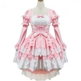 Pink Lolita maid dress