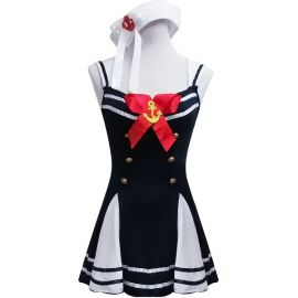 Black Lolita sailor fuku