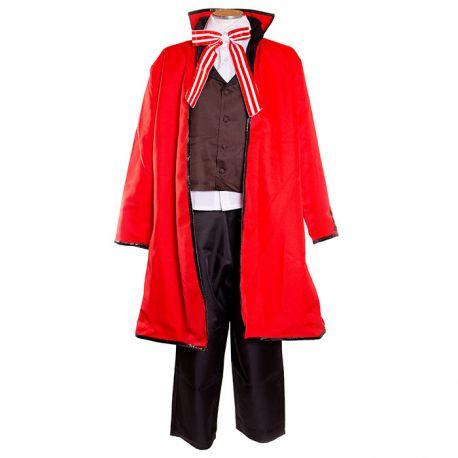 Kuroshitsuji - Black Butler - Grell Sutcliff costume