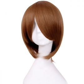 Cosplay short light brown wig