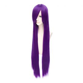 Cosplay long purple wig