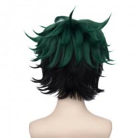 Boku no Hero Academia - Izuku Midoriya short green wig