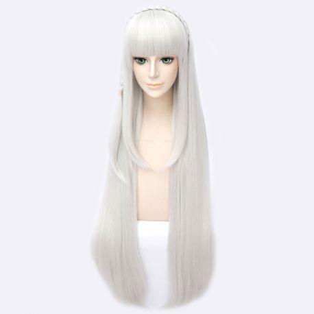 Re:Zero - Emilia long silver wig