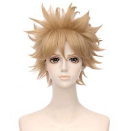 Boku no Hero Academia - My Hero Academia - Katsuki Bakugou lyhyt vaaleanruskea peruukki