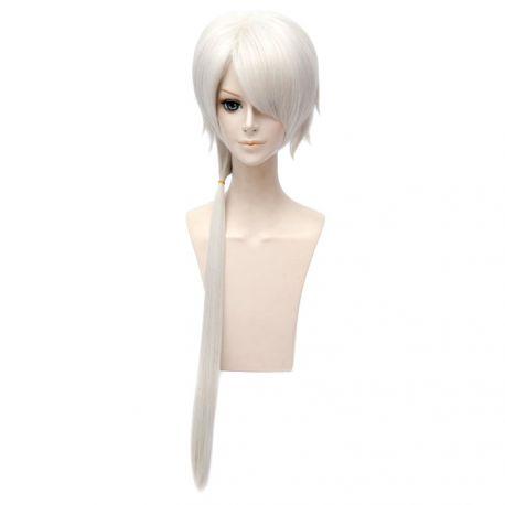 Mystic Messenger - Zen pitkä valkoinen peruukki