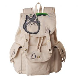 Totoro canvas backpack