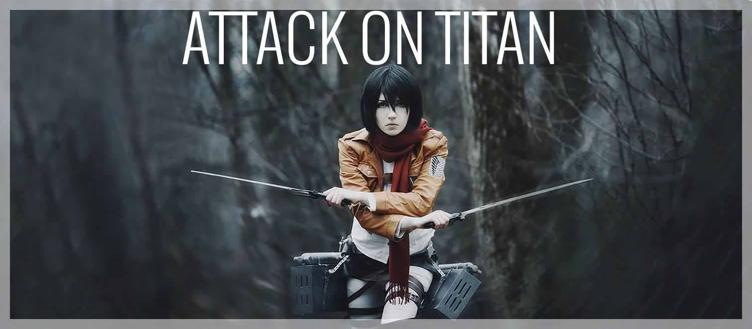 Attack on Titan produkter